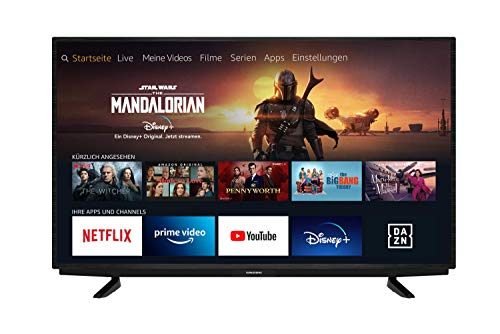 Grundig Vision 7 - Fire TV (55 VAE 70) 139 cm (55 Zoll) Fernseher...