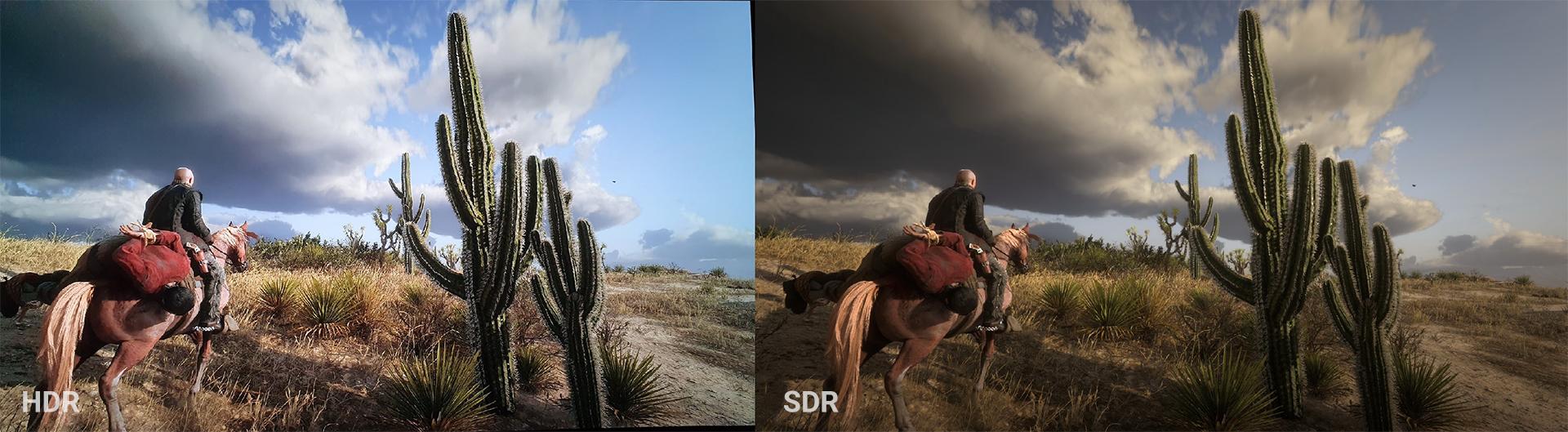 HDR vs SDR - Red Dead Redemption 2
