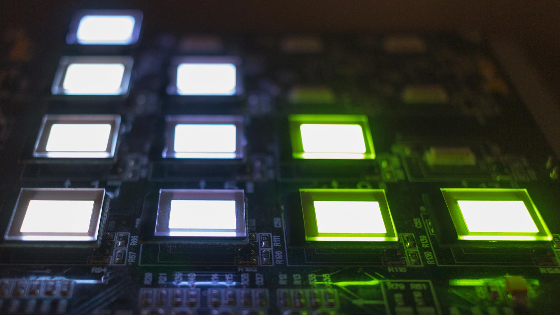 OLED Pixel - Organische Leuchtdioden - OLED vs QLED