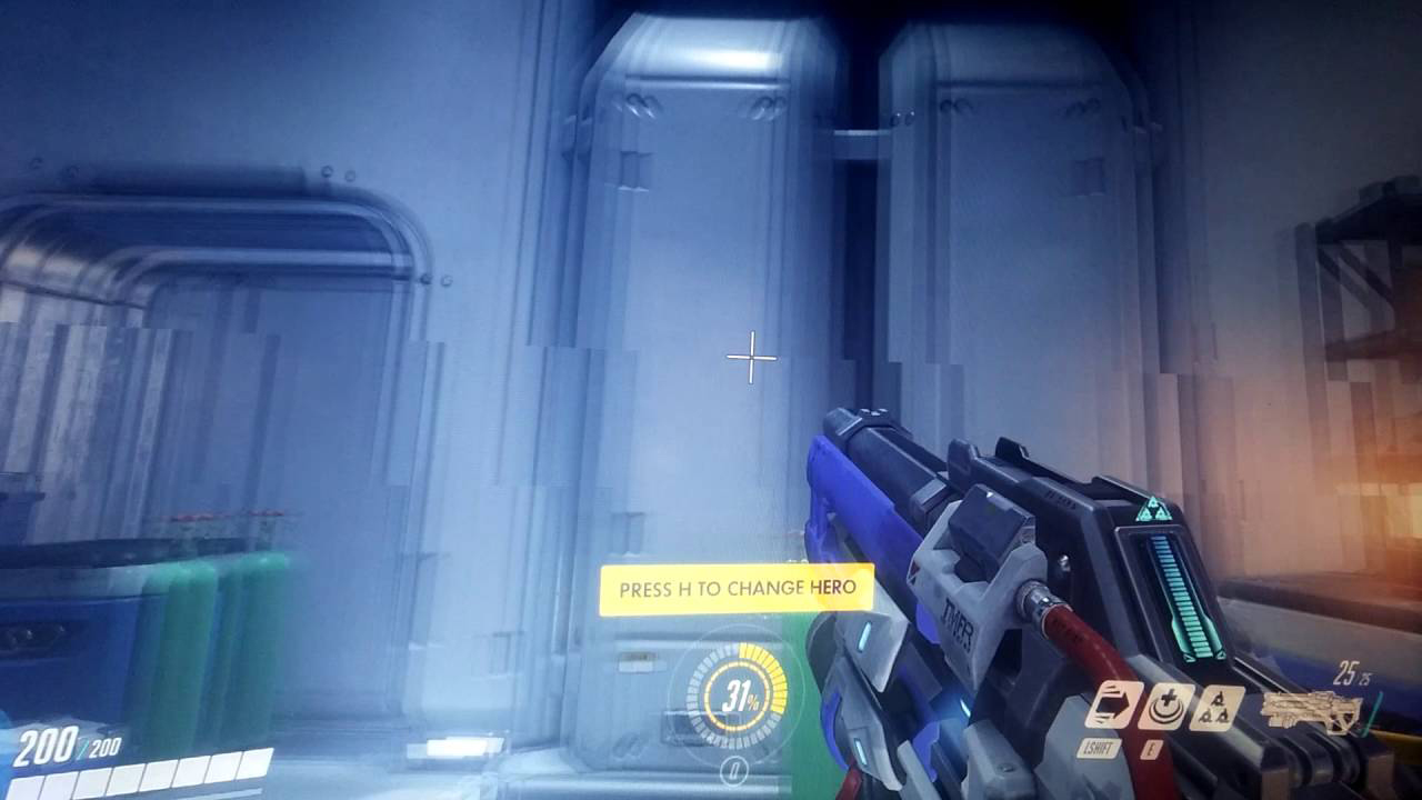 Screen Tearing Beispiel Overwatch