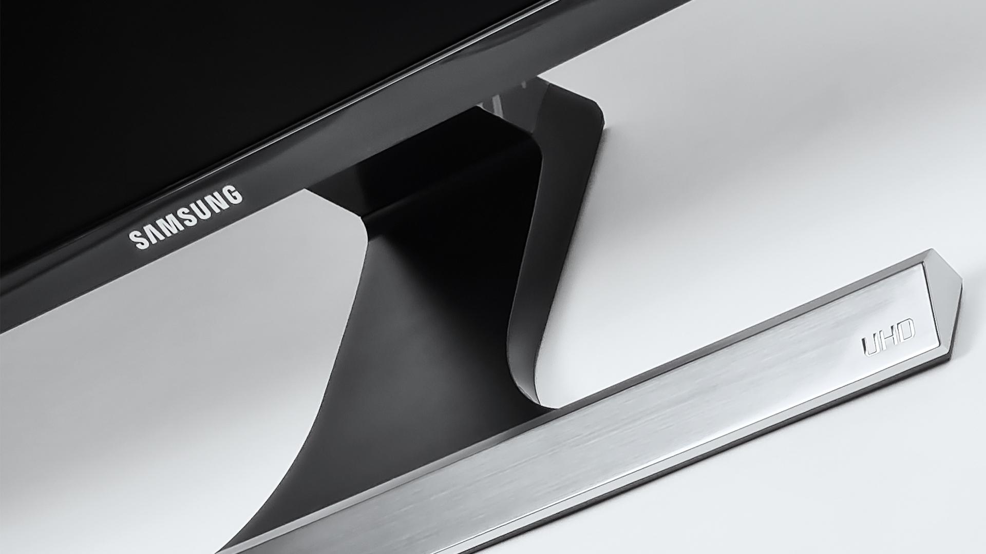 Schlichtes Design des Samsung U28E590D