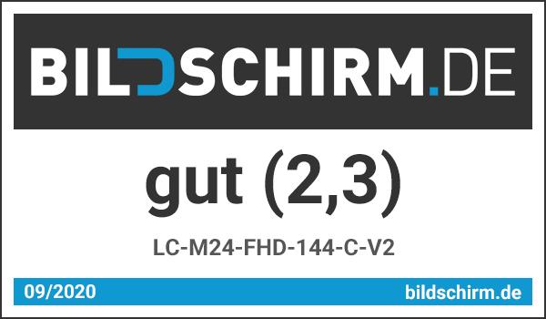LC-M24-FHD-144-C-V2 Test -Bildschirm.de Award