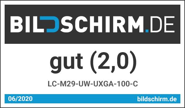 LC-M29-UW-UXGA-100-C Testsiegel von 4KMOBILE.DE
