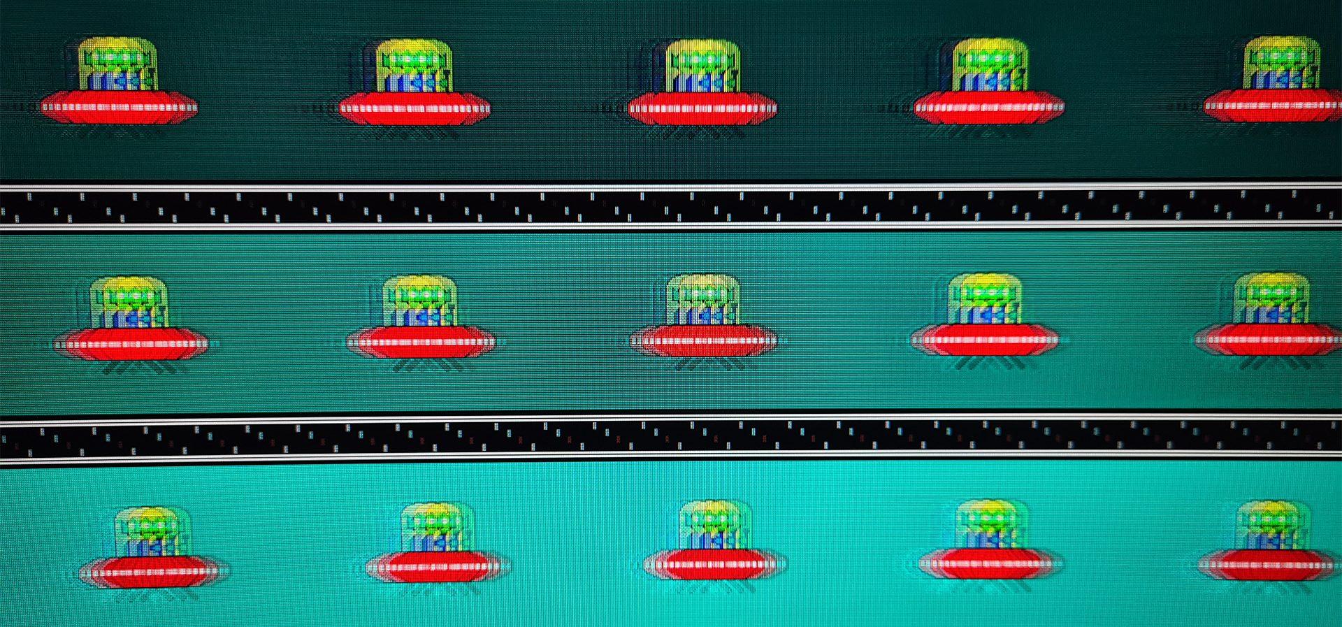 MSI Optix MAG271CR testufo mit overdrive