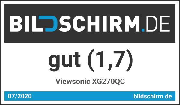 Viewsonic XG270QC Test - Bildschirm.de Award