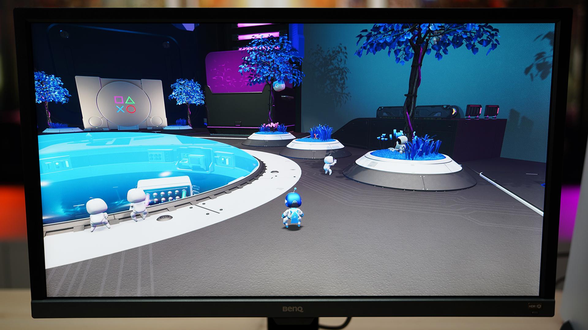 BenQ EL2870U PS5 Astros Playroom