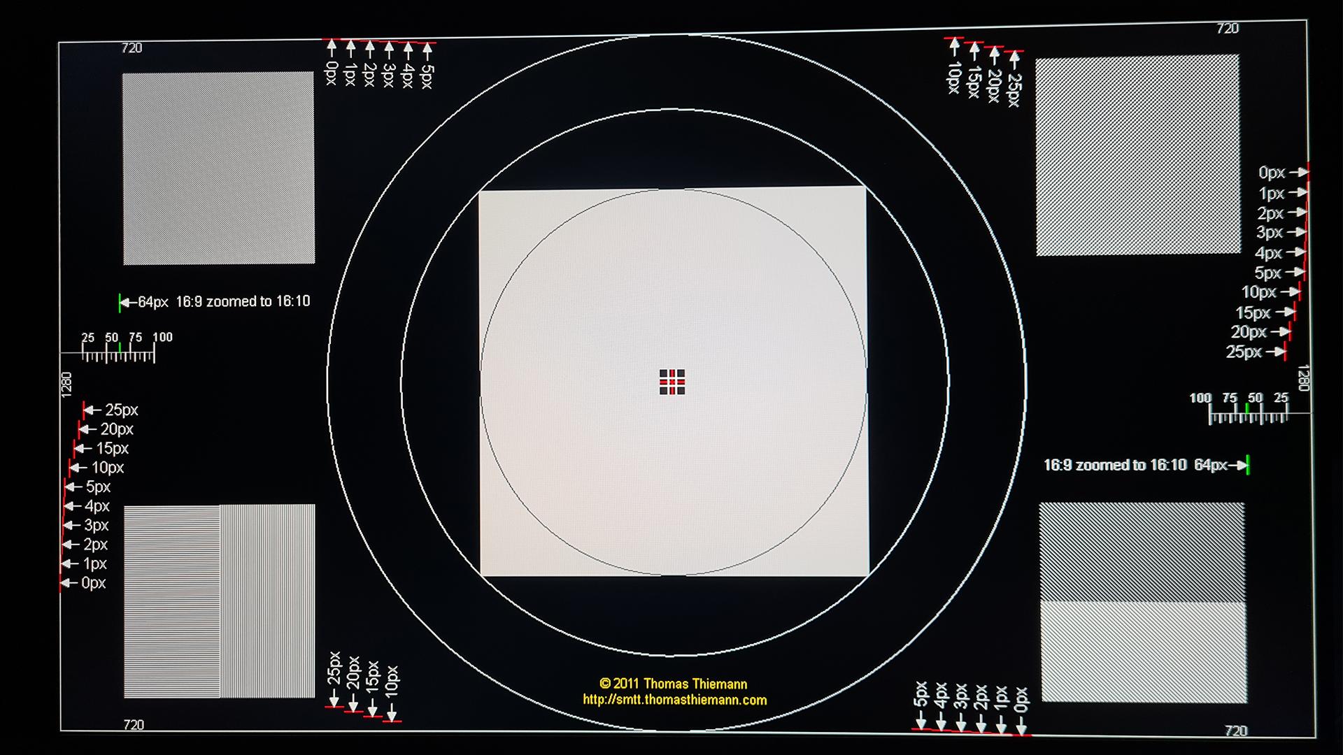 MSI Optix MAG274QRFDE-QD 720p Skalierung Test