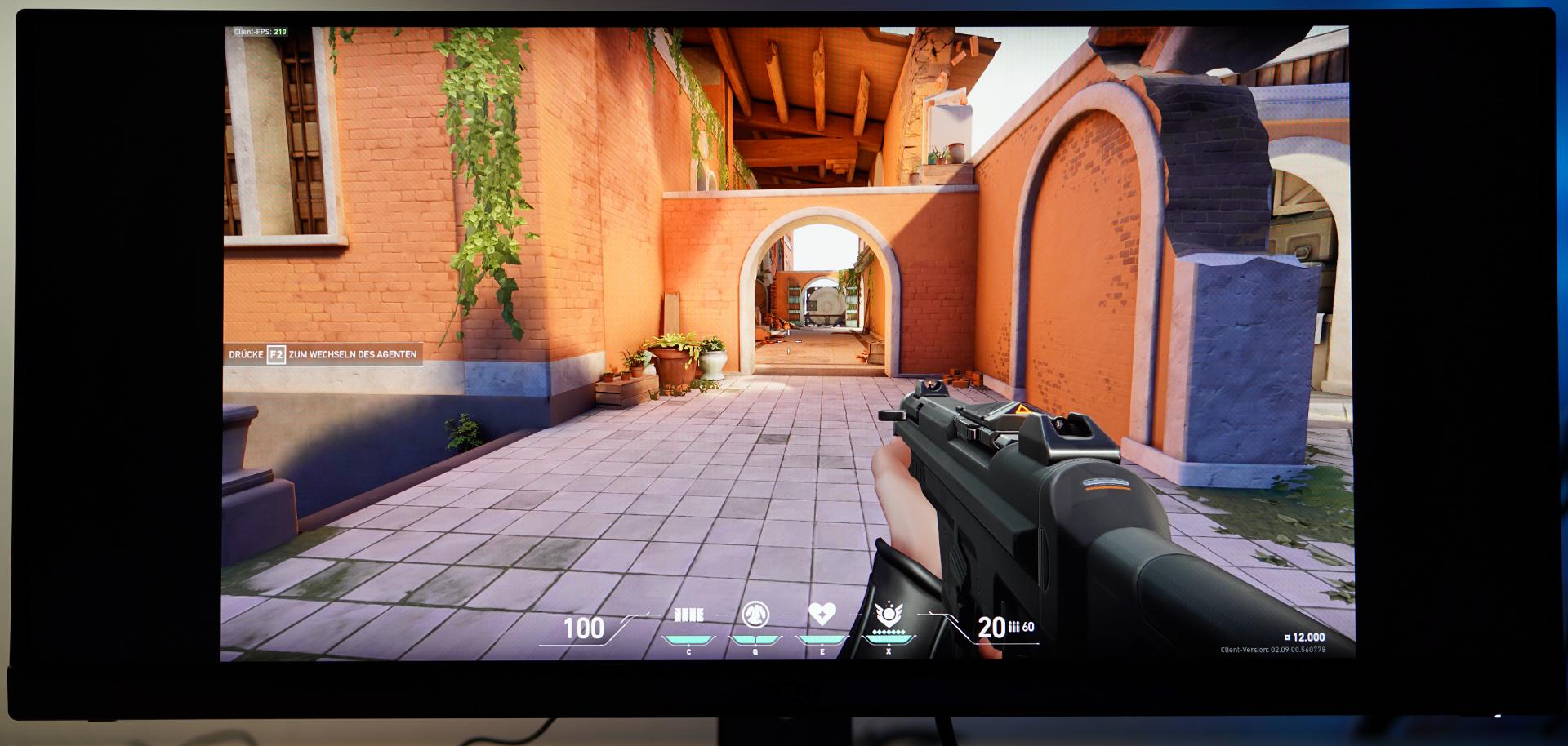 MSI Optix MAG301RF Valorant In Game Test