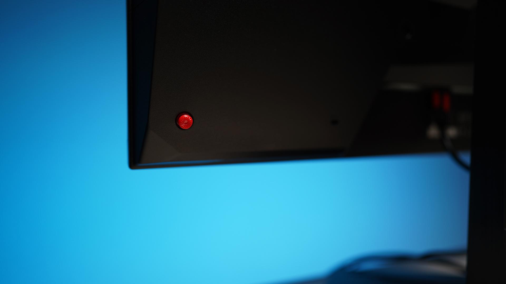 MSI Oculux NXG253R - Design Bedienung Joystick
