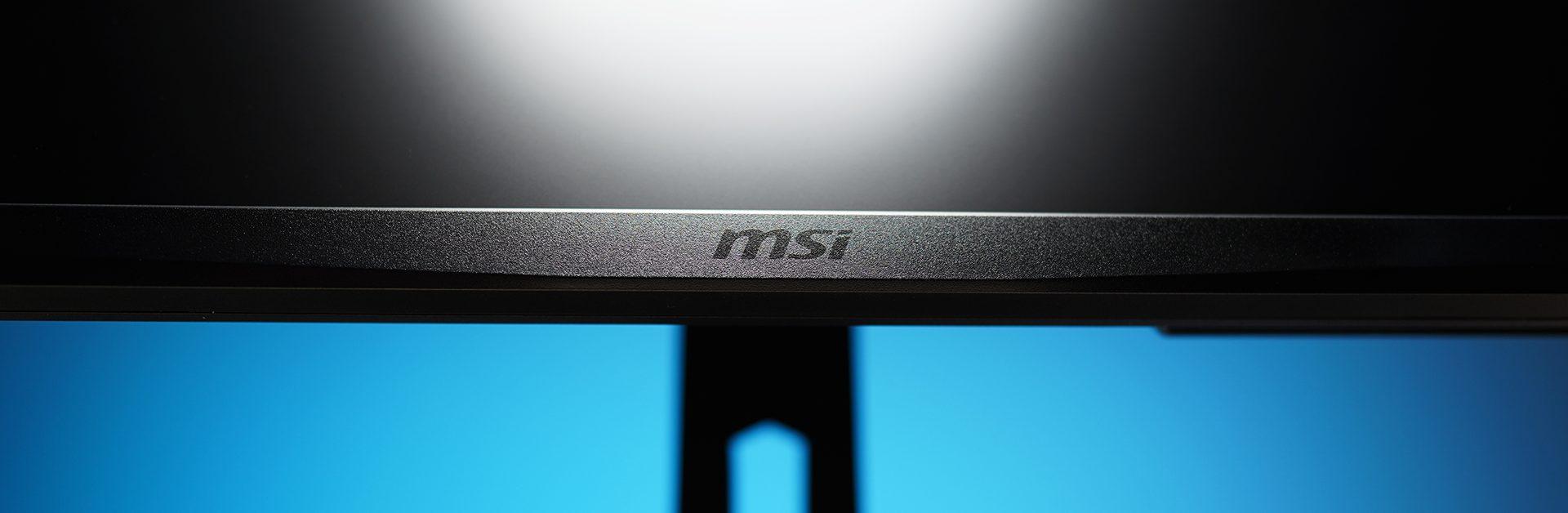 MSI Oculux NXG253R - MSI Logo