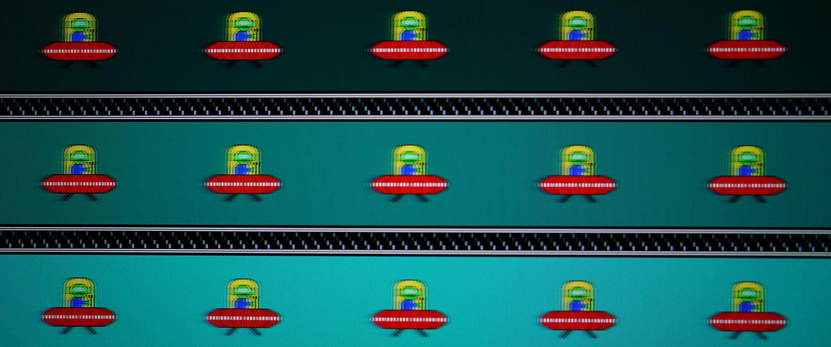MSI Oculux NXG253R - Motion Blur - Reaktionszeit Normal