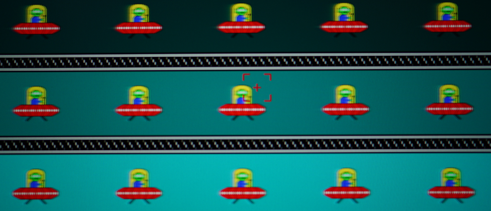MSI Oculux NXG253R - Motion Blur - Reaktionszeit Schnell